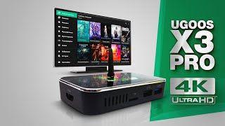 Smart tv iptv boх UGOOS X3 PRO 4/32 смарт тв андроид приставка 6950руб