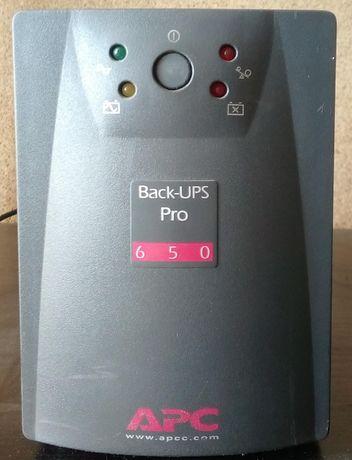 ибп APC Back-UPS Pro 650