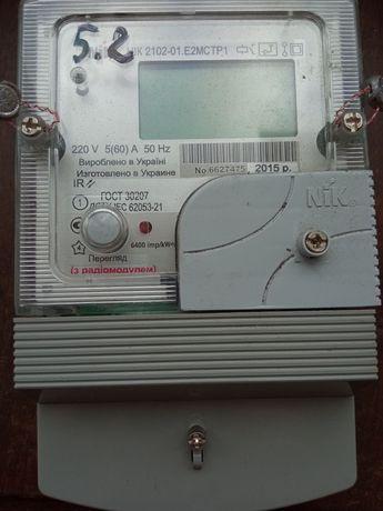 Счётчик электроэнергии НИК 2102-01.Е2МСТР1 двухзонный с радиомодулем