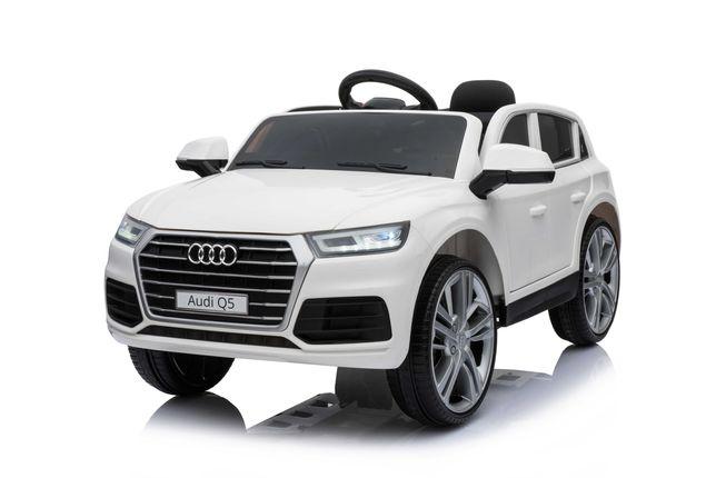 AUDI Q5 SUV Samochód Auto na akumulator koła EVA Pilot Skóra LED