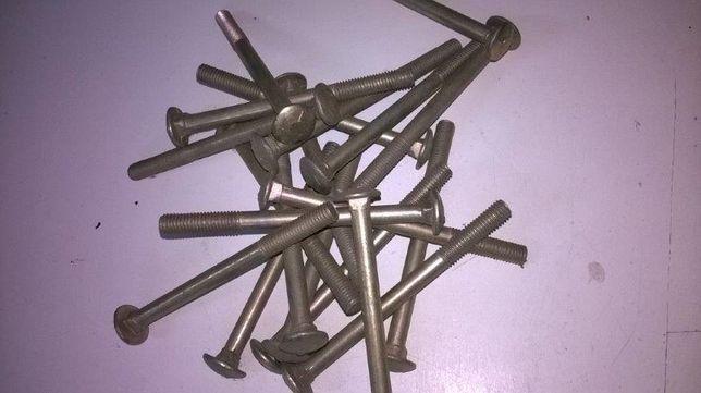 Śruba zamkowa M8 x 100 mm galwanizowana