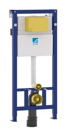 Stelaż podtynkowy WC Schwab DUPLO WC 189 BASIC ze wspornikami NOWY