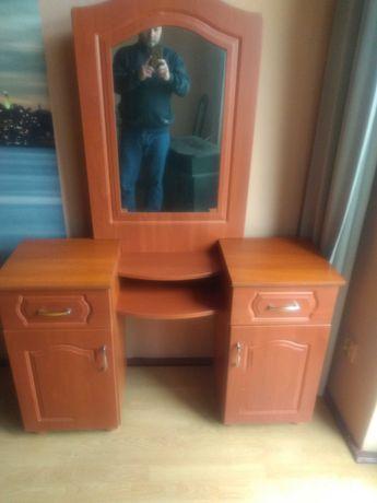 Bardzo praktyczna toaletka,biurko z lustrem