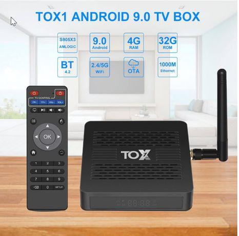 TOX1 4/32 Андроид ТВБОКС