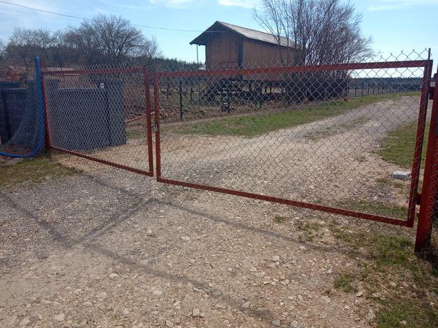 Brama na czas budowy 6m tymczasowa