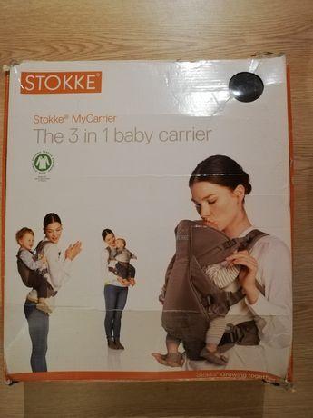 Stokke, My Carrier - nosidełko przodem i tyłem dla dzieci do 15 kg