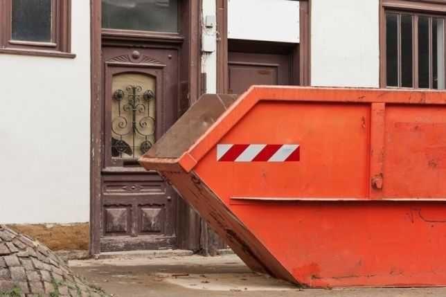 Wywóz gruzu odpadów, Wynajem kontenera na śmieci