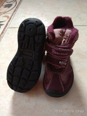 Зимові черевички baren schuhe 27 розмір (17,5 см устілка)