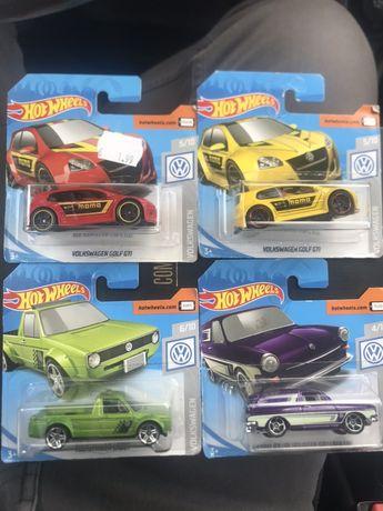 Hot wheels VW Golf V e outros
