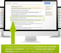 Pozycjonowanie w Google - reklama lokalna strony internetowej