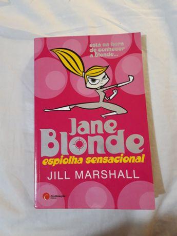 """""""Jane Blonde: Espiolha sensacional"""" de Jill Marshall"""