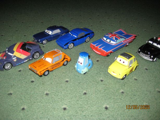 Машинки Тачки и Тачки-2