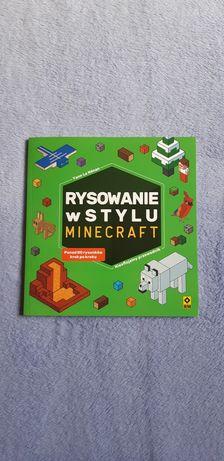 NOWE Ksiazka Rysowanie w stylu Minecraft