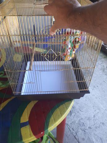 Продам большую клетку для попугаев