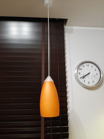 Lampa Wisząca Pomarańczowa