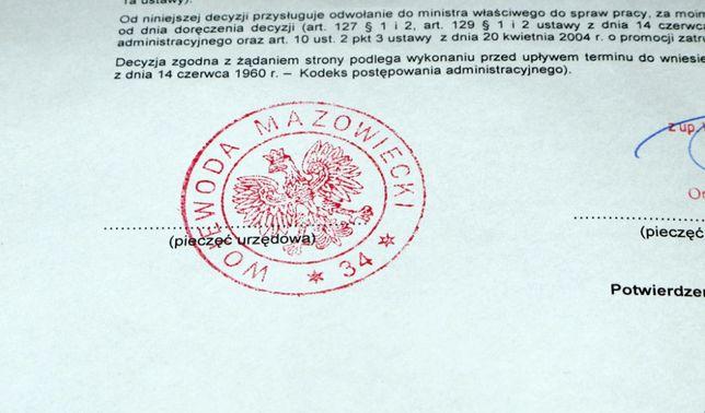 Запрошення для робочої візи в Польщу