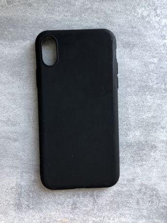 Etui czarne /case czarny na telefon Phone X / XS