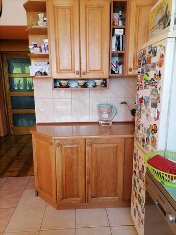 Sprzedam meble kuchenne drewniane wraz z narożnikiem
