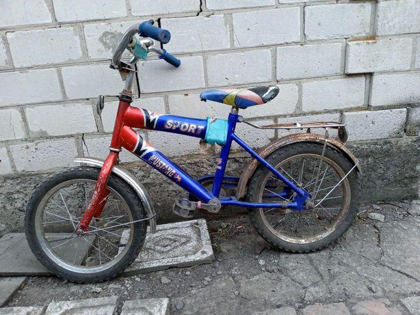 Велосипед децкий колеса д 16.