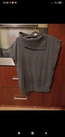 Sweter z krótkim rękawem rozmiar z metki M