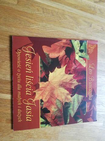 Jesień liścia Jasia lektura