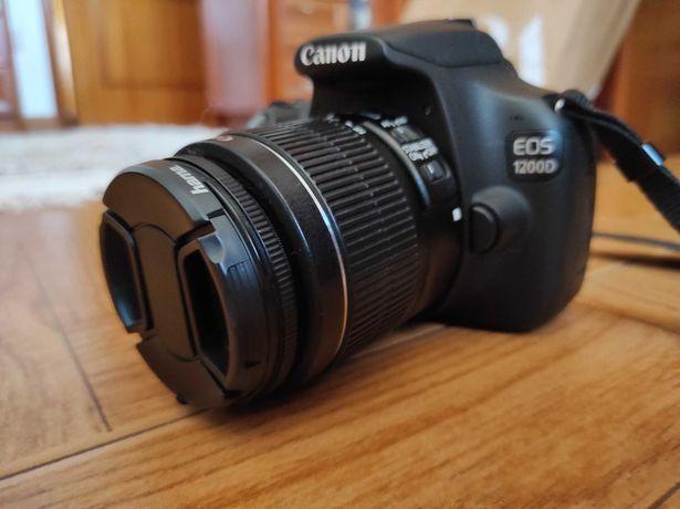 Canon 1200d + Acessórios + Tripé