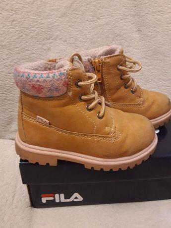 Buty zimowe dla dziewczynki - trzewiki,  rozmiar 24, Fila