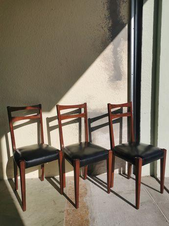 3 Cadeiras + 1 Cadeirão anos Vintage
