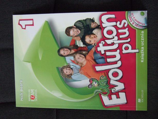 """Książka do j.angielskiego """"Evolution Plus 1"""" Macmillan"""