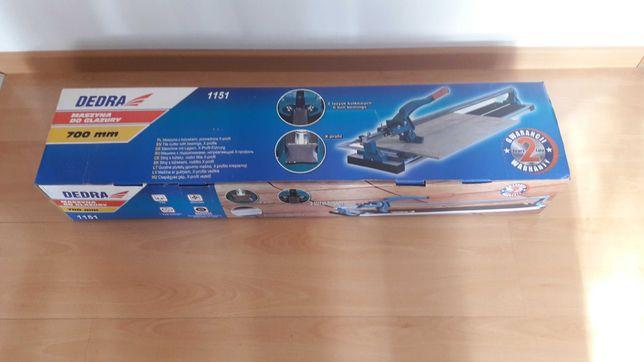 nowa nieużywana maszynka do płytek Dedra 1151 x profil 700mm