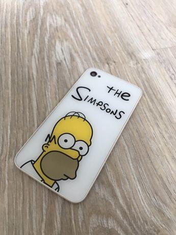 Obudowa Iphone 4s Homer Simpson szybka tył polecam oryginał