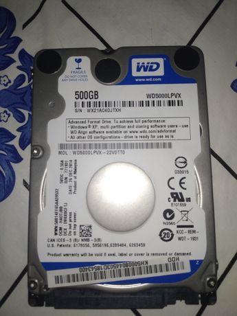 Жёсткий диск (HDD) для ноутбука - WD5000LPVX
