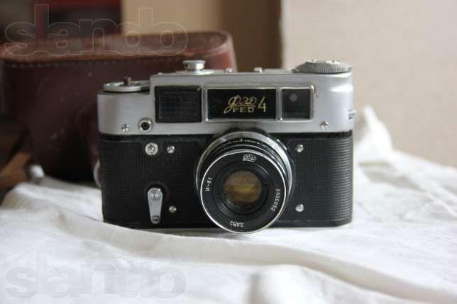 Продам фотоаппарат ФЕД 4