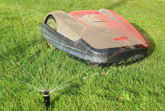 Automatyczne nawadnianie, zakładanie ogrodów, ogrodnik, trawa z rolki