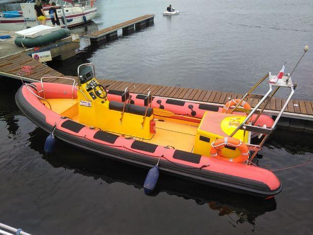 Diesel RIB ponton Parker 630 łódź ratownicza