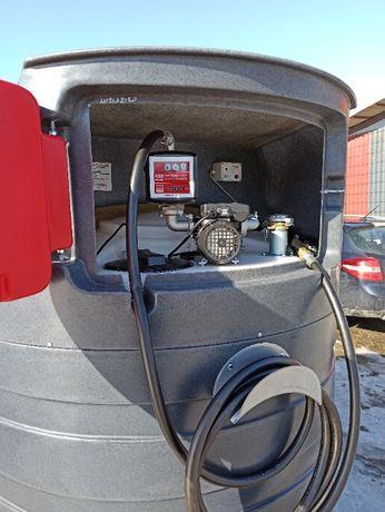 Zbiornik na paliwo 1500l olej napędowy ON ropę Wąż 6m