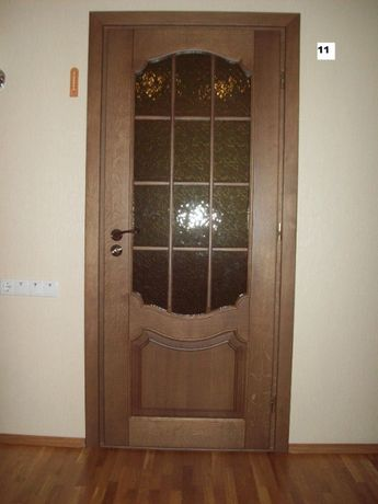 Двери из массива ольхи, ясеня, дуба