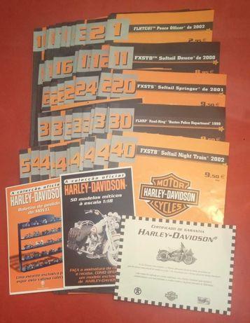 50 fascículos Harley Davidson  25€