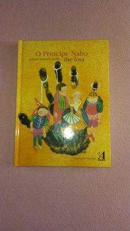 """Livro """" O príncipe Nabo"""""""
