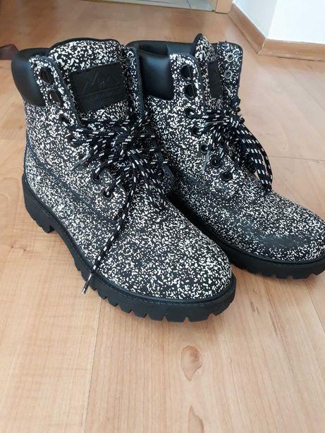 Buty Cropp czarno/białe