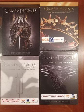 Guerra dos Tronos, Game of Thrones 2-4 Blu-ray/DVD