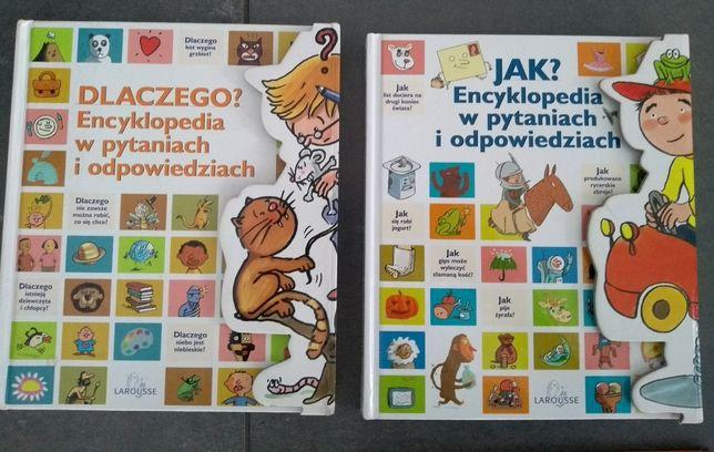 2 encyklopedie Larousse dla dzieci JAK? DLACZEGO?
