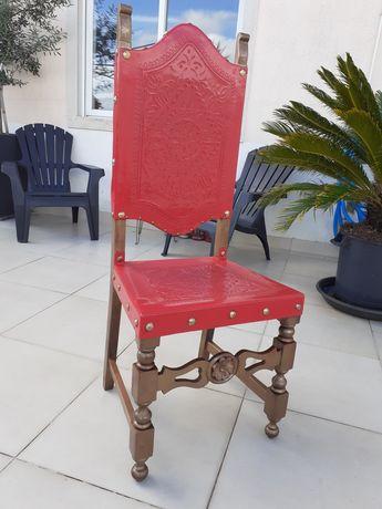 Cadeira/Trono Vintage restaurada