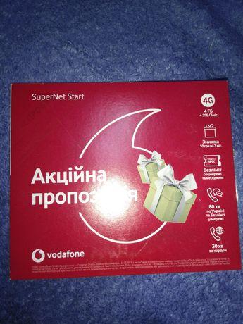 Стартовый пакет Vadafone