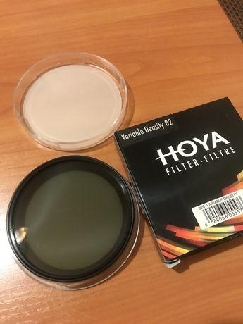 Світлофільтр Hoya Variable 82mm