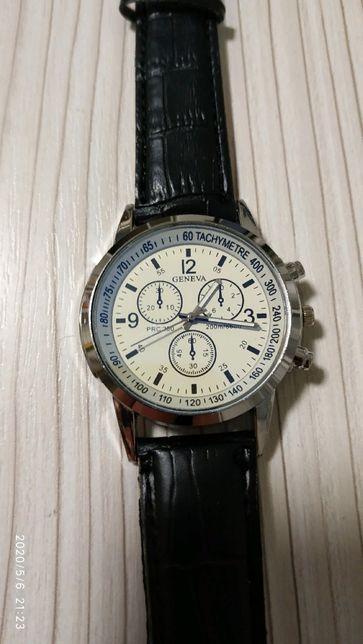 Часы наручные Geneva Armani Black Silver