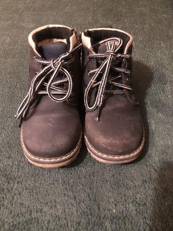 Утеплені осінні черевики для хлопчика