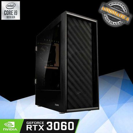 Computador Gaming i9 com nVIDIA RTX 3060 12GB
