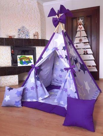 """Цена комплекта с ковриком! Вигвам игровой. Палатка детская """"Go"""""""