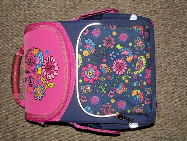 Рюкзак школьный (ранец) Smart каркасный ортопедический для девочки 1-4